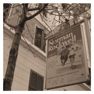 Le opere: OMAGGIO A NORMAN ROCKWELL